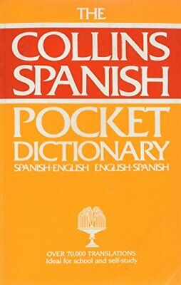 Collins Pocket Spanish Dictionary: Spanish-English, English-Spa... Hardback Book • 4.49£