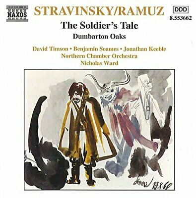 Stravinsky: Soldier's Tale / Dumbarton Oaks -  CD LZVG The Cheap Fast Free Post • 3.49£