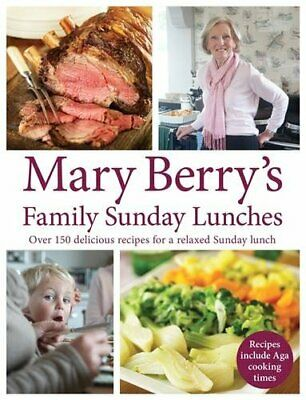 £6.49 • Buy Mary Berry's Family Sunday Lunches By Mary Berry Book The Cheap Fast Free Post
