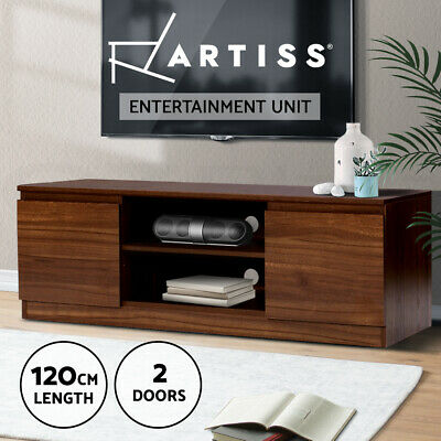 AU109.90 • Buy Artiss TV Cabinet Entertainment Unit Stand Side Storage Lowline Cupboard LCD LED