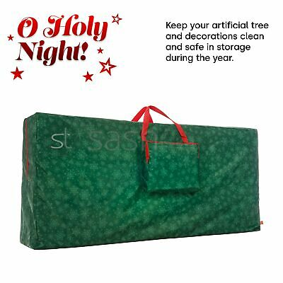 Christmas Tree Decoration Lights Zip Up Sack Storage Bag For Upto 9ft Xmas Tree  • 11.95£