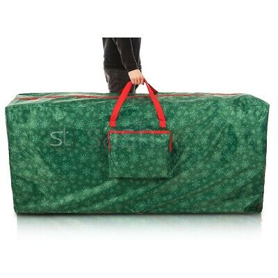 Christmas Tree Storage Bag With Handles Plus Side Pocket For Decorations Lights • 19.95£
