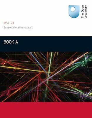 £8.99 • Buy Book A: Units 1-3 Essential Mathematics1: By Open University Course Team Book