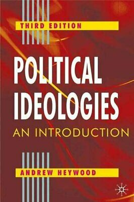 Political Ideologies: An Introduction By Heywood, Andrew Paperback Book The • 5.99£