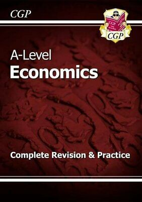 £7.99 • Buy New A-Level Economics: Year 1 & 2 Complete Revision & Practice (... By CGP Books