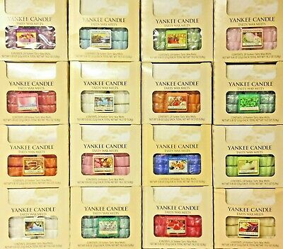 24 Yankee Candle TARTS WAX MELTS - 24 Tart CASE LOT - Variety Of SCENT CHOICES • 44.95£