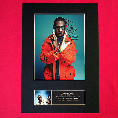 TINIE TEMPAH Quality Autograph Mounted Signed Photo Reproduction PRINT A4 401 • 17.99£
