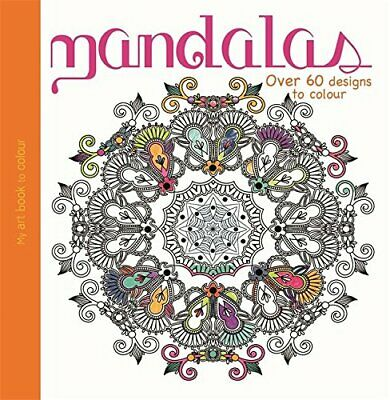 £4.99 • Buy My Art Book To Colour: Mandalas Book The Cheap Fast Free Post