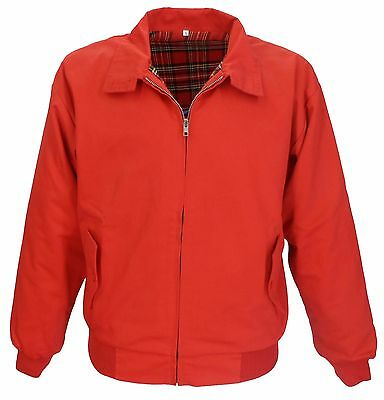 Relco Red Harrington Mod Scooter Jacket • 34.99£