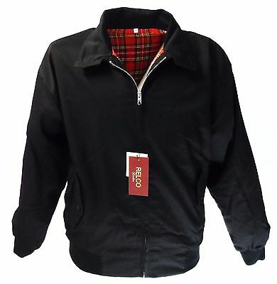 Relco Black Harrington Mod Scooter Jacket • 34.99£