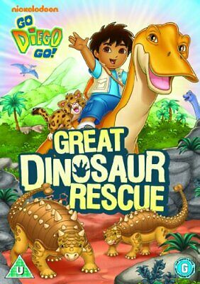 Go Diego Go - Go Diego Go!: Great Dinosaur Rescue [DVD] - DVD  OWVG The Cheap • 3.49£