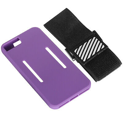 TRIXES Purple IPhone 7/6S Plus Smartphone Fitness Jogging Running Armband • 2.49£