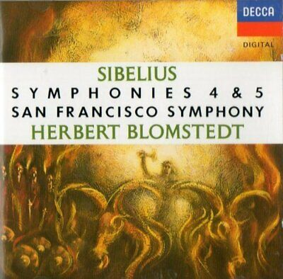£3.49 • Buy Sibelius: Symphonies Nos. 4 & 5 -  CD 67VG The Cheap Fast Free Post The Cheap