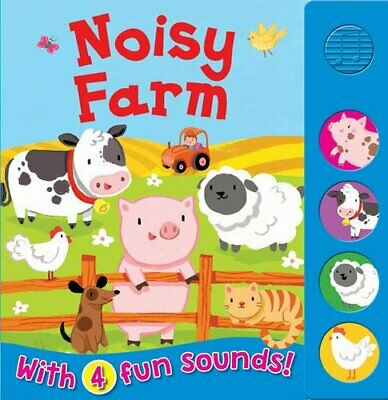 £5.49 • Buy Noisy Farm (Sound Boards) By Igloo Books Book The Cheap Fast Free Post