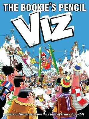 The Bookies Pencil: Viz Annual 2017 By Viz Book The Cheap Fast Free Post • 2.99£