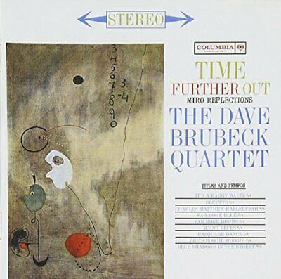 Dave Brubeck Quartet - Time Further Out - Dave Brubeck Quartet CD PMVG The Cheap • 3.49£