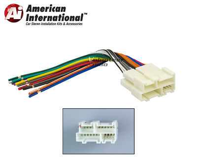 $7 • Buy GM Car Stereo CD Player Wiring Harness Wire Aftermarket Radio Install Plug