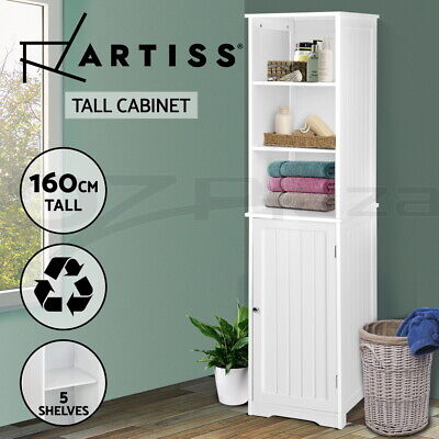 AU159 • Buy Bathroom Tallboy Furniture Toilet Storage Cabinet Laundry Cupboard Tall Boy