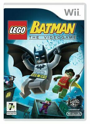 LEGO Batman: The Videogame (Wii) - Game  BWVG The Cheap Fast Free Post • 5.41£
