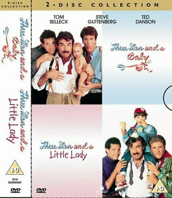 Three Men And A Baby / Three Men And A Little Lady [DVD] - DVD  BCVG The Cheap • 3.49£