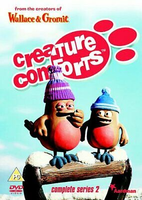£3.49 • Buy Creature Comforts: Complete Series 2 [DVD] - DVD  ECVG The Cheap Fast Free Post