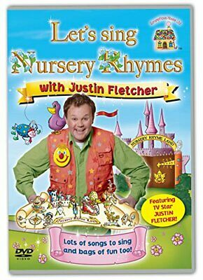 Let's Sing Nursery Rhymes With Justin Fletcher [DVD] - DVD  SQVG The Cheap Fast • 3.49£