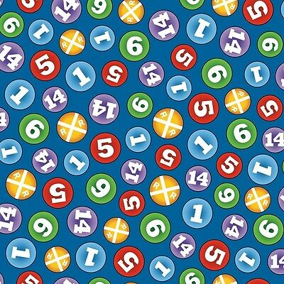 Fat Quarter Thomas The Tank Engine The Color Express Numbers (B) Quilting Fabric • 4.40£