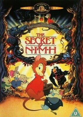 The Secret Of NIMH [DVD] [1982] - DVD  8IVG The Cheap Fast Free Post • 3.49£