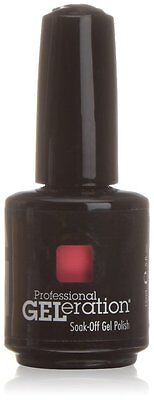 Jessica GELeration UV LED 15ml Soak Off Gel Nail Polish - Starfish Glow (PINK) • 7.16£