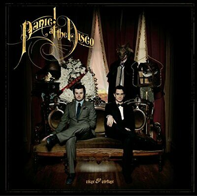 Panic! At The Disco - Vices & Virtues - Panic! At The Disco CD 1SVG The Cheap • 3.85£