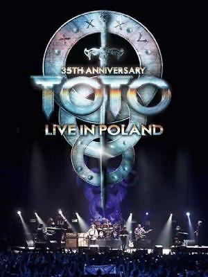 £13.64 • Buy Toto - 35th Anniversary Tour - Live In Poland (NEW DVD)