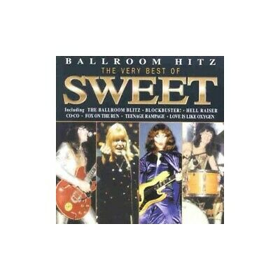 The Sweet - Ballroom Blitz-Best Of Sweet - The Sweet CD 9BVG The Cheap Fast Free • 3.49£