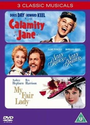 £3.90 • Buy Calamity Jane/Seven Brides For Seven Brothers/My Fair Lady [DVD] - DVD  N8VG The