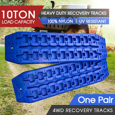 AU59 • Buy 2pc NEW 10T Pair Recovery Tracks Sand Track Sand / Snow / Mud Trax 4WD Blue AU