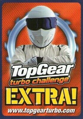 TOP GEAR TURBO CHALLENGE EXTRA RARE CARDS  Or SUPER RARE CARDS     ...CHOOSE • 1.50£