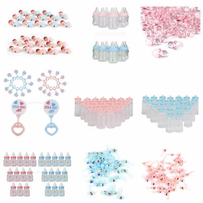 £2.84 • Buy 12x Mini Rattles For Christening Girl Boy Baby Shower Favors Party Table Decor