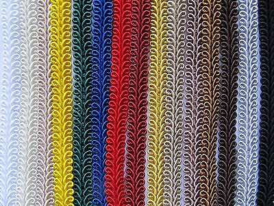 £1.35 • Buy 10mm SILKY SCROLL BRAID Blinds Lampshade Costume Upholstery Furnishing Gimp Trim