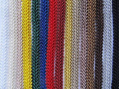 10mm SILKY SCROLL BRAID Blinds Lampshade Costume Upholstery Furnishing Gimp Trim • 1.35£