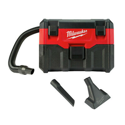 Milwaukee M18 Li-Ion 2 Gal. Wet/Dry Vacuum (Bare Tool) 0880-22 New
