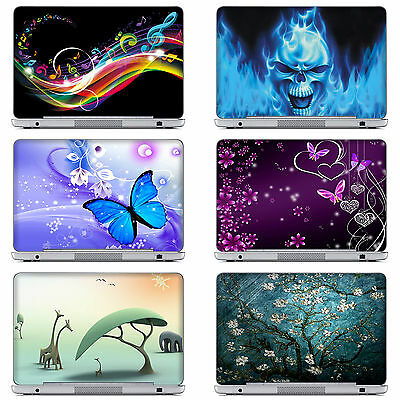 £7.90 • Buy 10 -17  Laptop Computer Skin Sticker Decal Cover For ASUS DELL HP And More