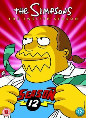 The Simpsons - Season 12 - Complete [DVD] - DVD  KUVG The Cheap Fast Free Post • 8.04£