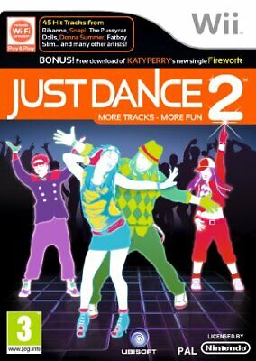 Just Dance 2 (Wii) - Game  7SVG The Cheap Fast Free Post • 6.72£