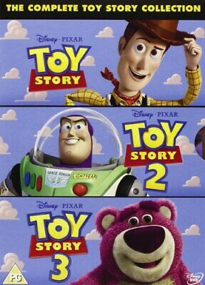 £3.49 • Buy The Complete Toy Story Collection: Toy Story / Toy Story 2 / Toy ... - DVD  FKVG