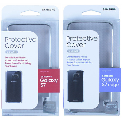 $ CDN10.73 • Buy 100% Authentic For Samsung Galaxy S7 Edge & Galaxy S7 Clear View Case Cover