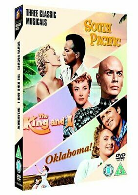 £3.49 • Buy South Pacific/The King And I/Oklahoma! [DVD] - DVD  F8VG The Cheap Fast Free