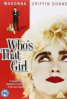 £9.87 • Buy Who's That Girl [DVD] [1987] - DVD  CSVG The Cheap Fast Free Post