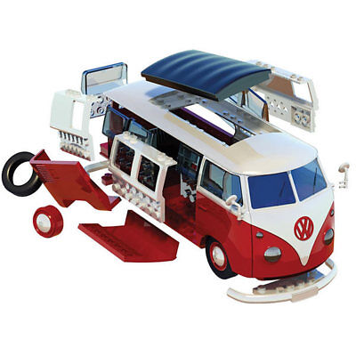 AIRFIX Quickbuild VW Camper Van J6017 Car Model Kit • 15.95£