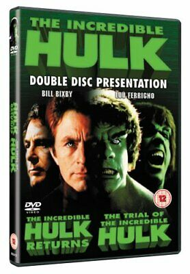 Incredible Hulk - The Incredible Hulk Returns/The Trial Of The In... - DVD  28VG • 7.96£
