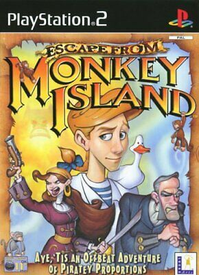 Escape From Monkey Island (PS2) - Game  EVVG The Cheap Fast Free Post • 8.72£
