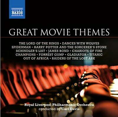 £3.49 • Buy Various Composers - Great Movie Themes [Davis, Rlpo] - Various Composers CD EYVG